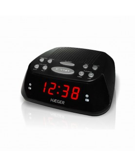Rádio Relógio Haeger...